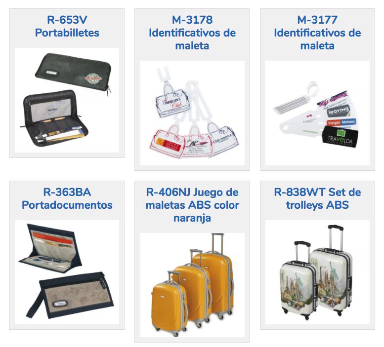 catalogo maletas bolsos 2017