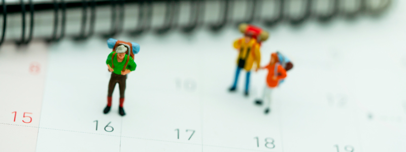 calendario para agencias de viajes